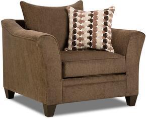 Simmons Upholstery 648501ALBANYCHESTNUT