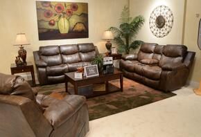 Catalina Collection 64311-1223-19/3023-19SET 3 PC Living Room Set with Power Reclining Sofa + Loveseat + Recliner in Timber Color