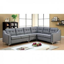 Furniture of America CM6851GYSECTIONAL