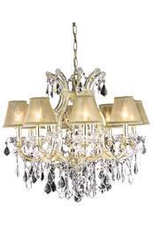 Elegant Lighting 2800D26GSA+SH1R6G