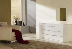 VIG Furniture VGWCSBD01ARONWHT