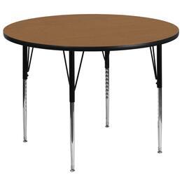 Flash Furniture XUA60RNDOAKTAGG