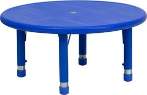 Flash Furniture YUYCX0072ROUNDTBLBLUEGG