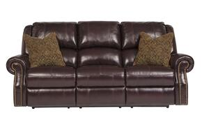 Walworth U78002PSLR 3-Piece Living Room Set with Power Reclining Sofa, Power Reclining Loveseat and Power Rocker Recliner in Blackcherry