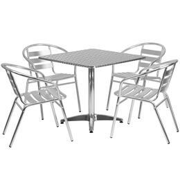 Flash Furniture TLHALUM32SQ017BCHR4GG