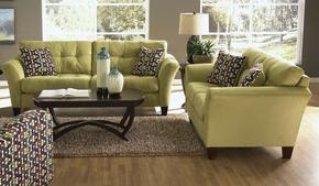Halle Collection 43812PCSTLKIT1B 2-Piece Living Room Sets with Stationary Sofa, and Loveseat in Basil