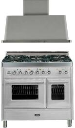 2-Piece Stainless Steel Kitchen Package with UMTD1006DMPI 40