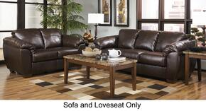 Franden DuraBlend Collection 98800SL 2-Piece Living Room Set with Sofa and Loveseat in Cafe