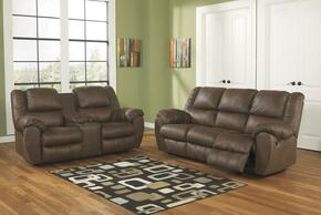 Quarterback 32701SLR 3-Piece Living Room Set with Sofa, Loveseat and Recliner in Canyon