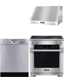 3-Piece Stainless Steel Kitchen Package with HR1622I 30