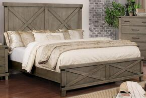 Furniture of America CM7734GYQBED