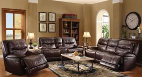 Cerviel 51500SLR 3 PC Living Room Set with Sofa + Loveseat + Reliner in Burgundy Color