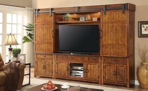 Industrial Collection ZIND-TVC2PHB 5-Piece Entertainment Center with 64
