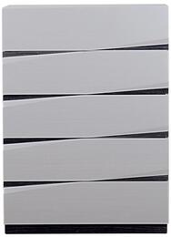 Global Furniture USA SCARLETTSILVERLINEHGZEBRAGREYHGCHEST