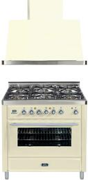 2-Piece Antique White Kitchen Package with UMT906DVGGA 36