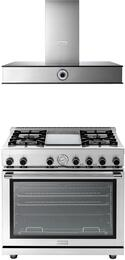 2-Piece Stainless Steel Kitchen Package with RN362GPSS 36