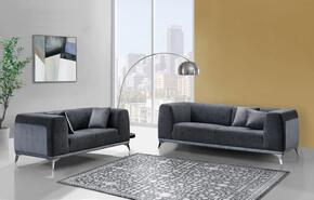Global Furniture USA U833H1017DARKGR8989ASLS