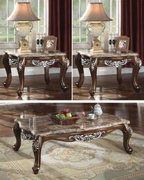 Sandro Collection 2033PCRC2SEKIT1 3-Piece Living Room Table Sets with Coffee Table, and 2x End Table in Light Cherry