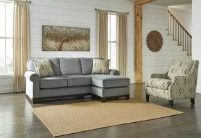 Eliezer Collection MI-6045SCAC-MARI 2-Piece Living Room Set with Sofa Chaise and Accent Chair