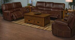 2230332NCHSLR Wyoming 3 Piece Power Recline Living Room Set with Sofa, Loveseat and Recliner, in Chestnut