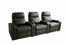 Wholesale Interiors 8326BLACK3SEAT