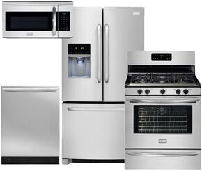 4-Piece Stainless Steel Kitchen Package with FFHB2740PS 36