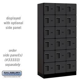 Salsbury Industries 36368BLK