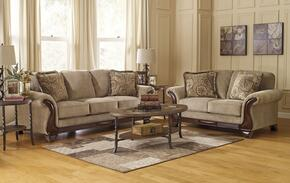 Lanett 44900SET2PC 2-Piece Living Room Set with Sofa and Loveseat in Barley