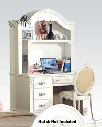 Flora Collection 01687SDC 2 PC Set Student Desk + Student Chair in White Finish