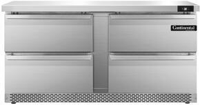 Continental Refrigerator SW60FBD