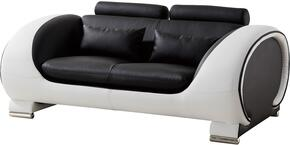 American Eagle Furniture AED802BKWLS