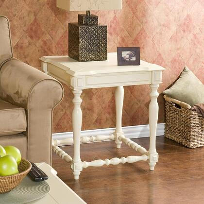 Southern Enterprises CK4122 Traditional Square End Table