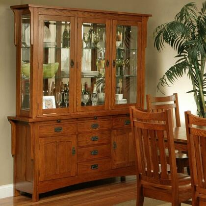 Ayca 182004AB  Dining Room with 3 Shelves