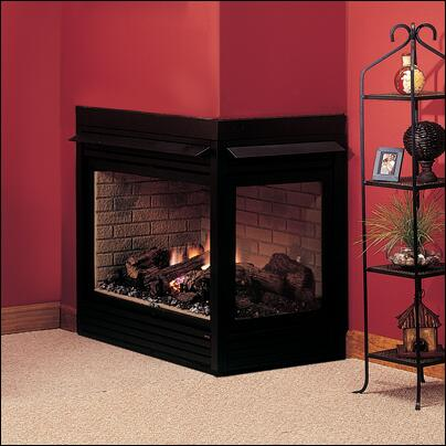 Majestic CRLDVPSC Wall Mountable Direct Vent Propane Gas Fireplace