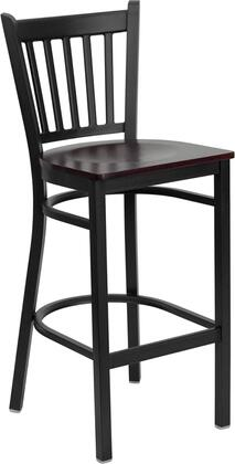 Flash Furniture XUDG6R6BVRTBARMAHWGG Hercules Series Not Upholstered Bar Stool
