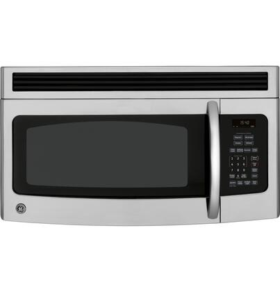 GE JVM1540SMSS 1.5 cu. ft. Over the Range Microwave Oven with 300 CFM, 950 Cooking Watts, in Stainless Steel