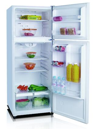Golden GRD10GLW  Refrigerator with 10 cu. ft. Capacity in White