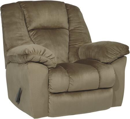 Signature Design by Ashley 2650125 Darden Series Contemporary Fabric Metal Frame Rocking Recliners