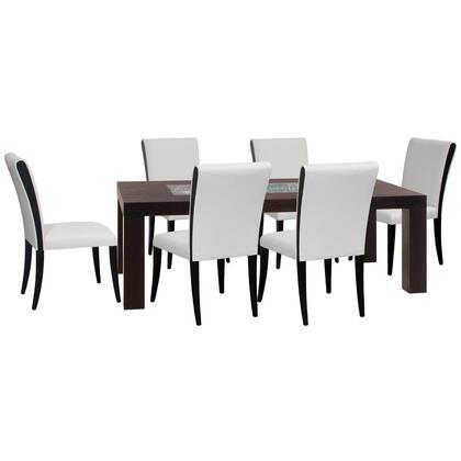 Diamond Sofa D0716L990T7PC Diamond Sofa Dining Room Sets