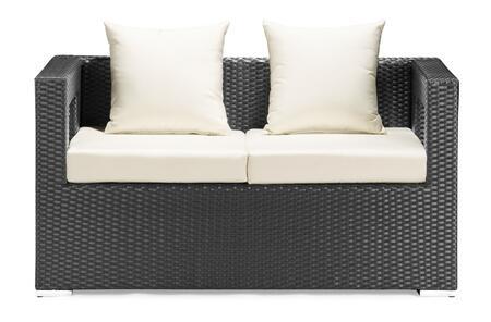Zuo 701155 Contemporary Patio Sofa