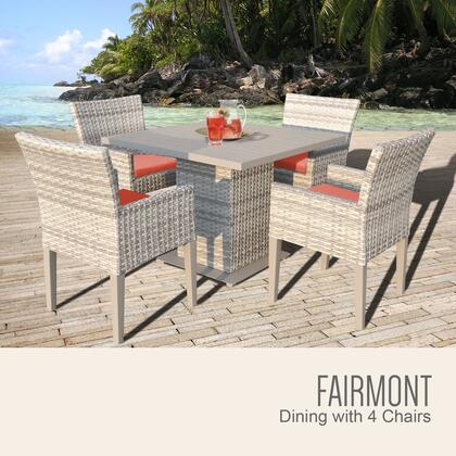 FAIRMONT SQUARE KIT 4DCC TANGERINE