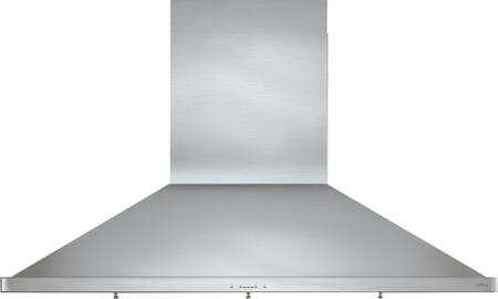 Zephyr ZSPExBS Essentials Europa Series Siena Pro Wall Mount Range Hood with 1200 CFM, ICON Touch Controls, 5 Speed Levels and Dual-Level BriteStrip LED, in Stainless Steel