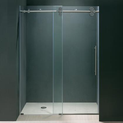 "Vigo VG6041XXCL4874 48"" Frameless Shower Door 3/8"" Glass:"