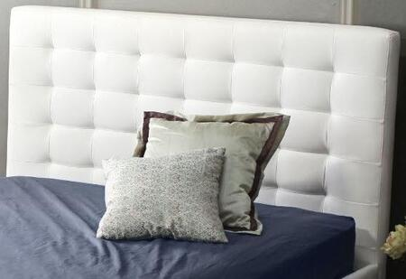 Diamond Sofa ZENBEDEKINGHB Bonded Leather Queen Size Headboard: