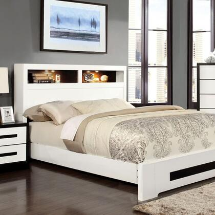 Furniture of America CM7297QBED Rutger Series  Queen Size Bed