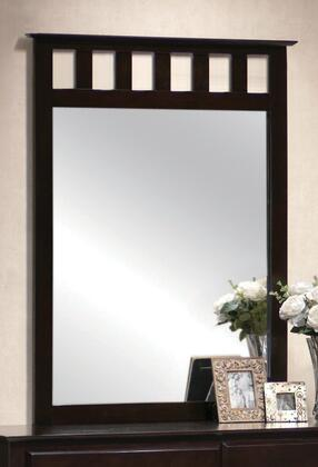 Yuan Tai TR1506M Torino Series Rectangular Portrait Dresser Mirror