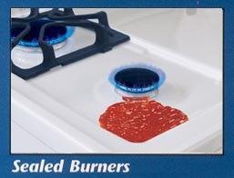 "Premier STK2X0 36"" Freestanding Gas Range with 6 Sealed Burners"