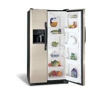 Frigidaire FRS6HR35KM  Side by Side Refrigerator with 26 cu. ft. Capacity in Silver