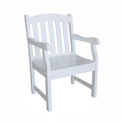 Vifah V1339  Wood Frame  Patio Arm Chair