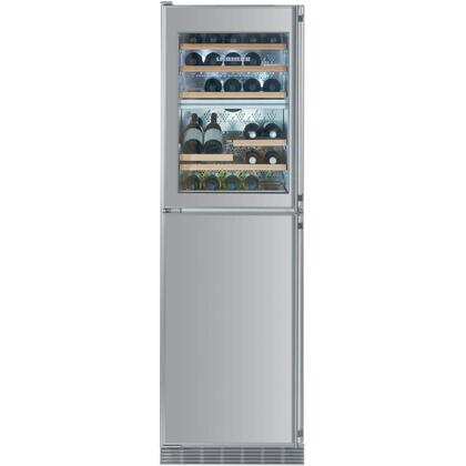 Liebherr WFX1061 8.8 cu. Ft. Total Capacity Built-In Wine Cooler, 34 Bottle, Intelligence Sensor Technology, FrostSafe System, SuperQuiet, Energy Star Rated: